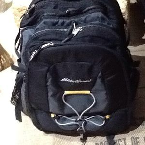 Eddie Bauer Large Deluxe Travel Laptop Backpack
